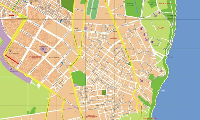 Карта МАФов